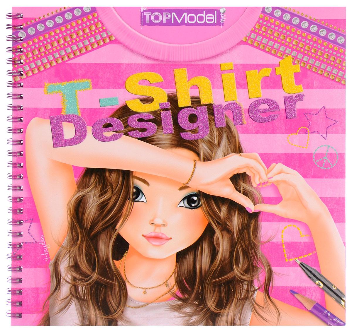 TOPModel T-Shirt Designer. Раскраска (+ наклейки)