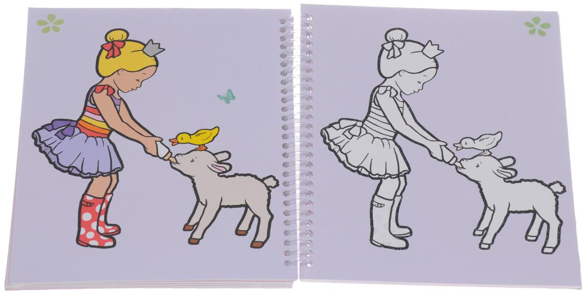 My Style Princess: Glitter Book. Раскраска (+ наклейки)