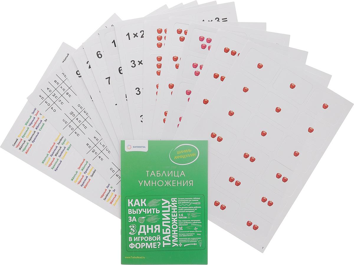 Таблица умножения. Как выучить таблицу умножения за 3 дня в игровой форме (+ набор карточек)