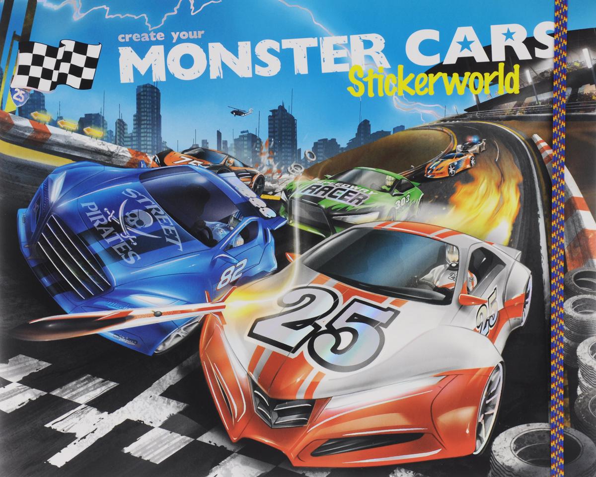 Create your: Monster Cars: Stickerworld / Альбом с наклейками