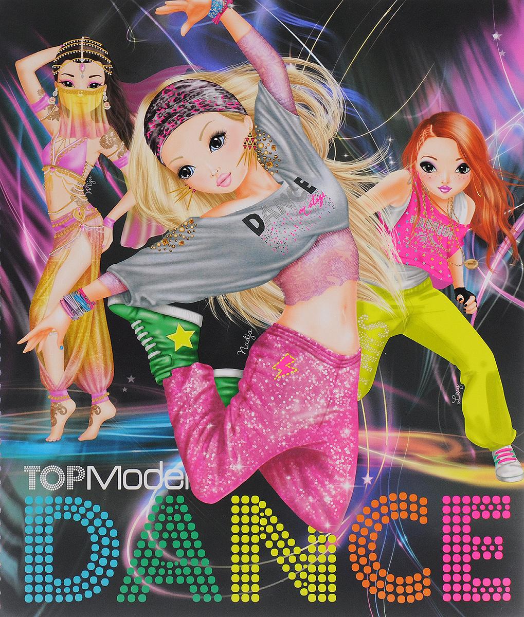 TOPModel: DANCE. Раскраска