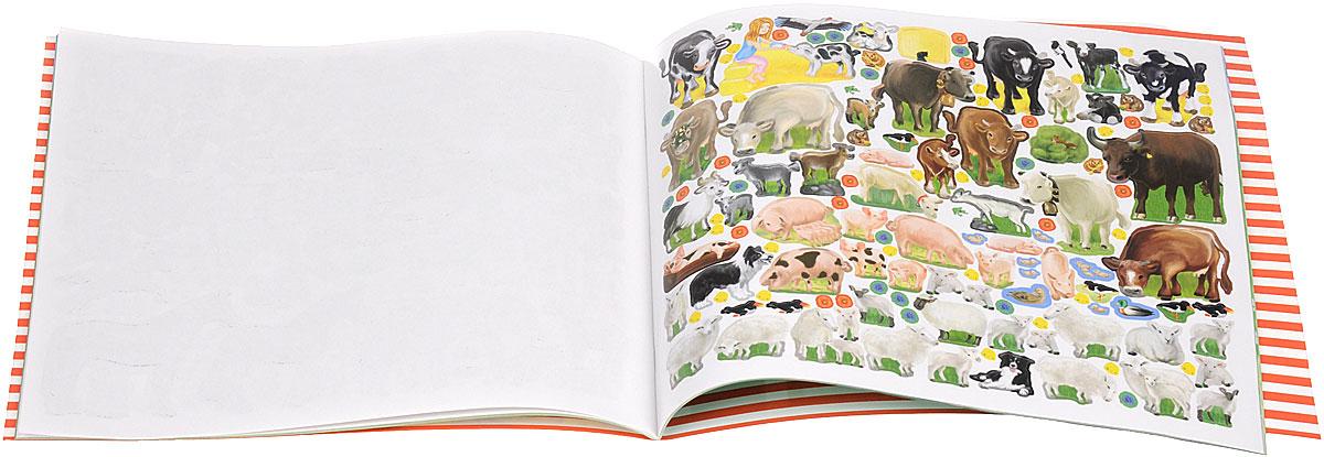 Creative Studio: Create your Funny Farm (альбом с наклейками)