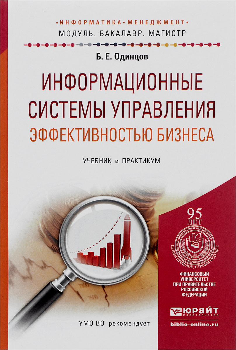 Информационные системы управления эффективностью бизнеса. Учебник и практикум