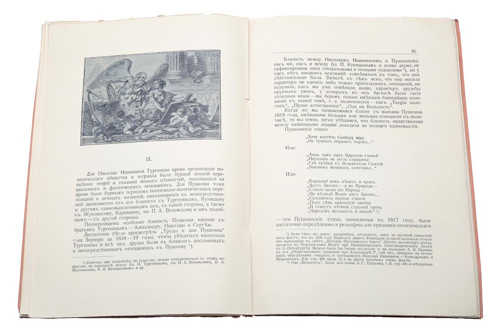 К истории вопроса о развитии в России общественных идей в начале XIX века