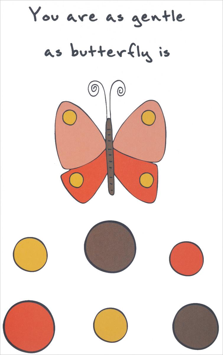 """You are as Gentle as Butterfly is"" Блокнот для записей"