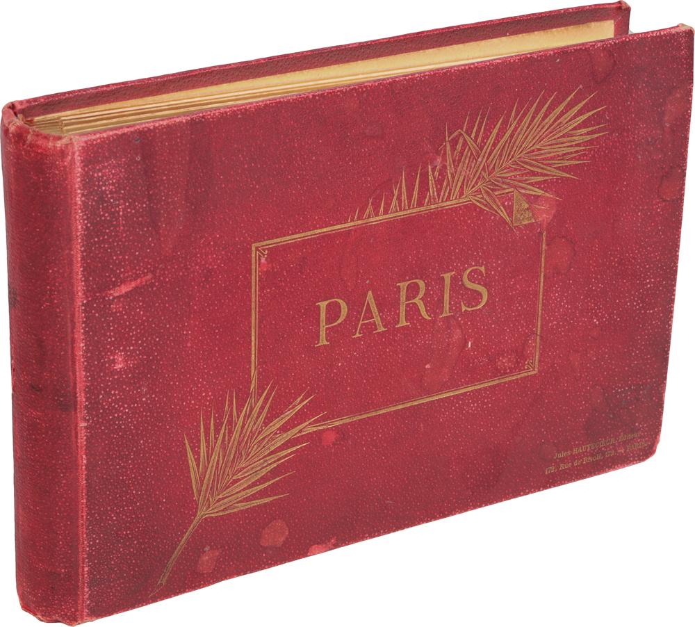 Париж. Альбом видов
