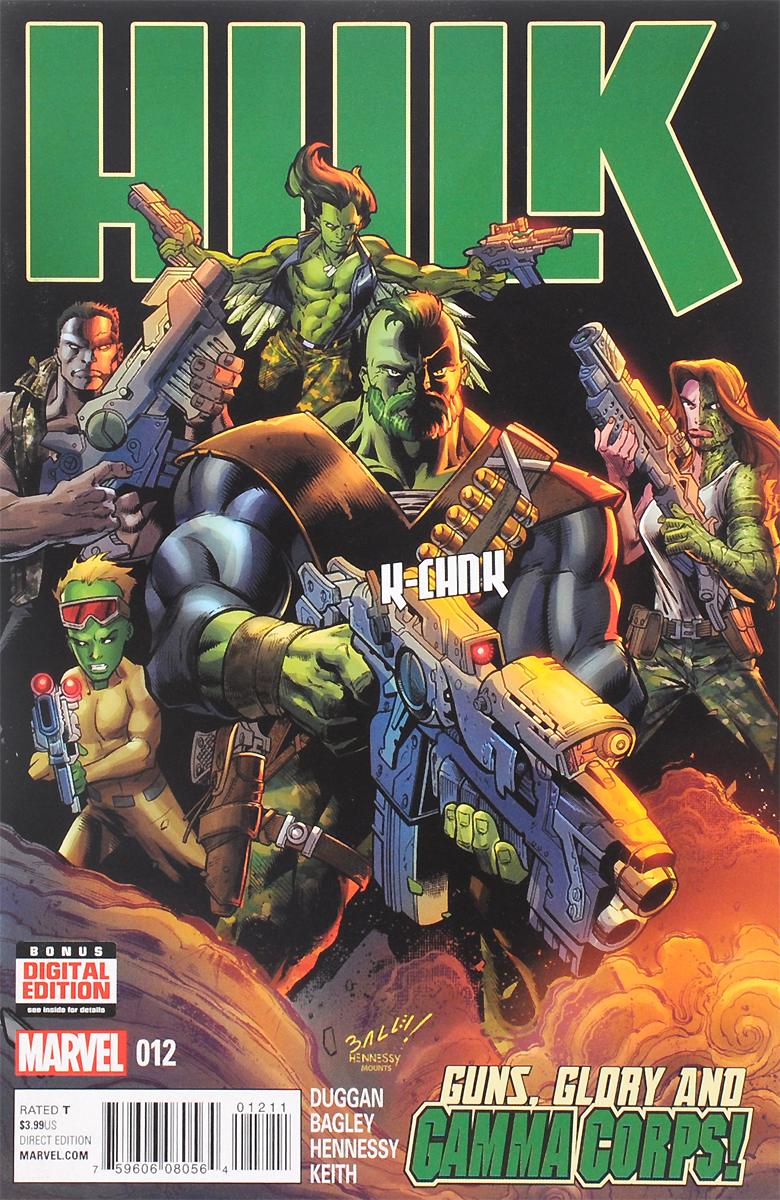 Hulk: Guns, Glory And Gamma Corps!№ 12, May 2015