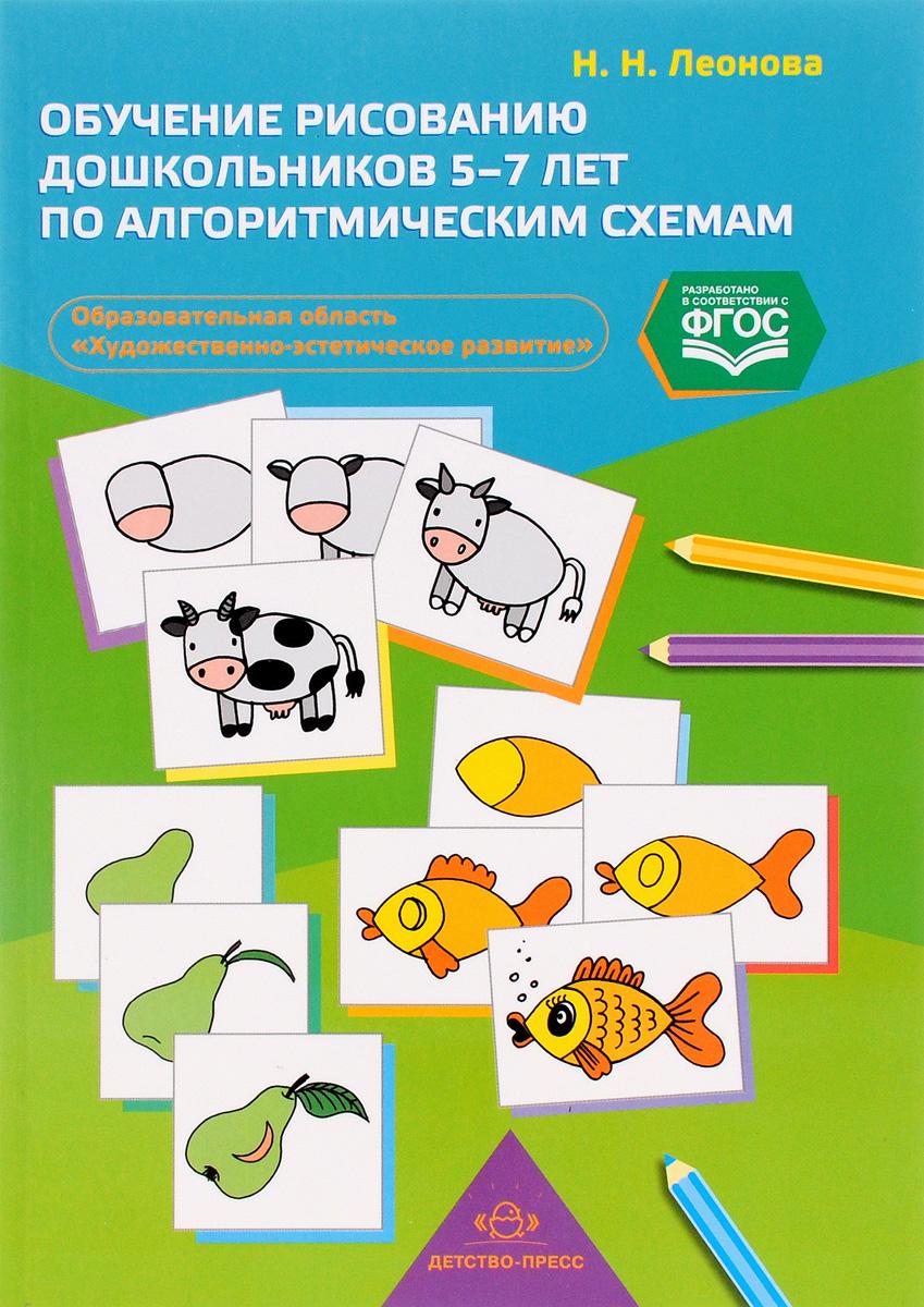 Обучение рисованию дошкольников 5-7 лет по алгоритмическим схемам