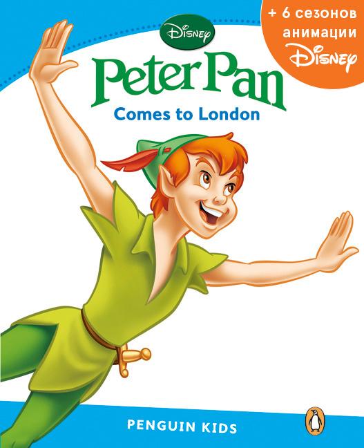Peter Pan, адаптированная книга для чтения, Уровень 1 + код доступа к анимации Disney12296407Комплект состоит из: 1)адаптированной книги для чтения серии Pearson Kids Disney 2)кода доступа к 6 сезонам мультсериалов Disney, каждая серия сезона представлена двумя вариантами: файл с английской звуковой дорожкой и файл с русской звуковой дорожкой (общее продолжительность видео составляет 80 часов). Код доступа находится на листовке с описанием акции, листовка вложена в книгу. Pearson Kids Disney Описание пособия: Большинство детей просто очарованы волшебным миром Диснея! Авторы серии книг для чтения PenguinKids от Pearson - успешные практикующие преподаватели - с любовью переработали известные истории, чтобы даже те, кто только начинает изучать английский язык, смогли с удовольствием знакомиться с любимыми героями на уроках или дома. Выбор диснеевских историй полностью соответствует заявленному уровню владения языком и возрастной группе. Книги для чтения доступны на 6 уровнях. Все тексты имеют четко простроенную и соответствующую заявленному уровню систему грамматических...