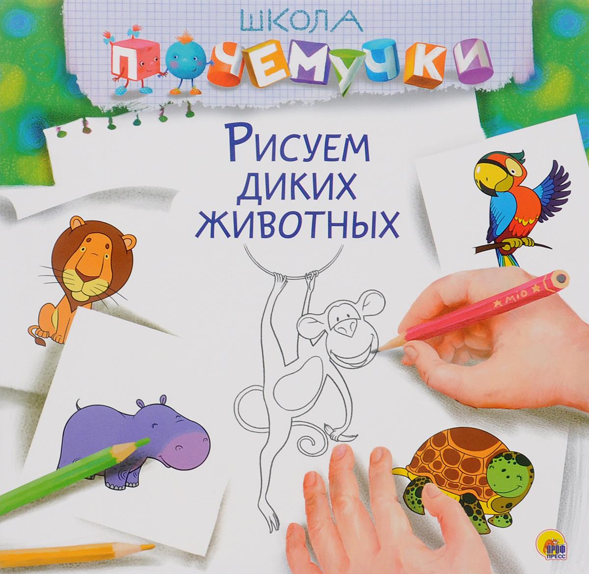 Рисуем диких животных