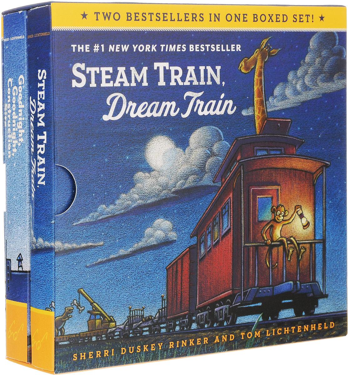 Sherri Duskey Rinker Goodnight, Goodnight, Construction Site. Steam Train, Dream Train (комплект из 2 книг)