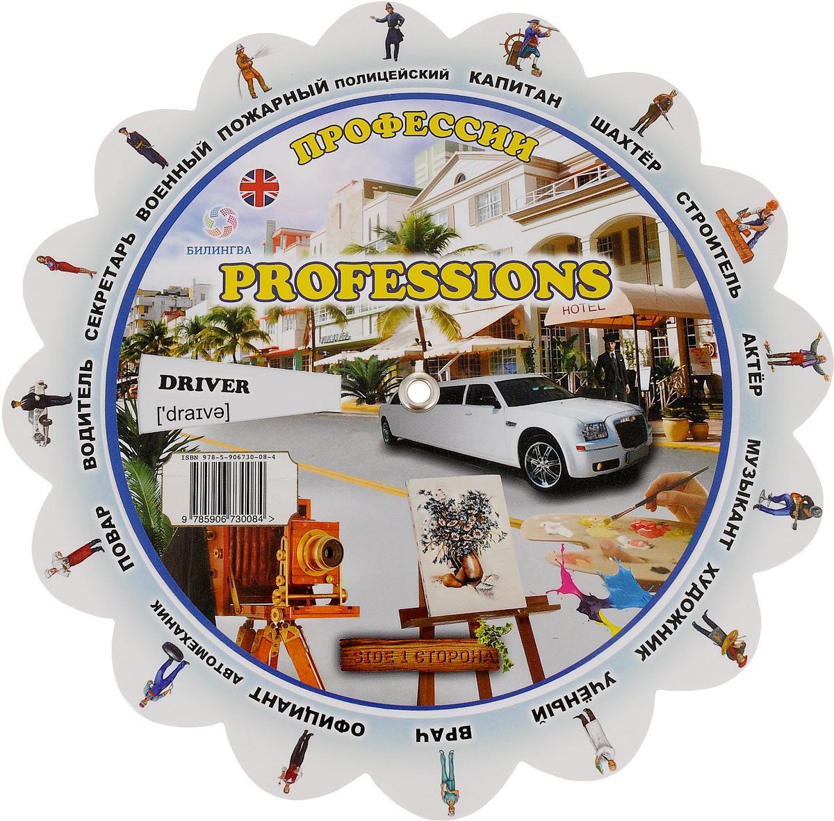 Professions (Профессии). Иллюстрированный тематический словарь