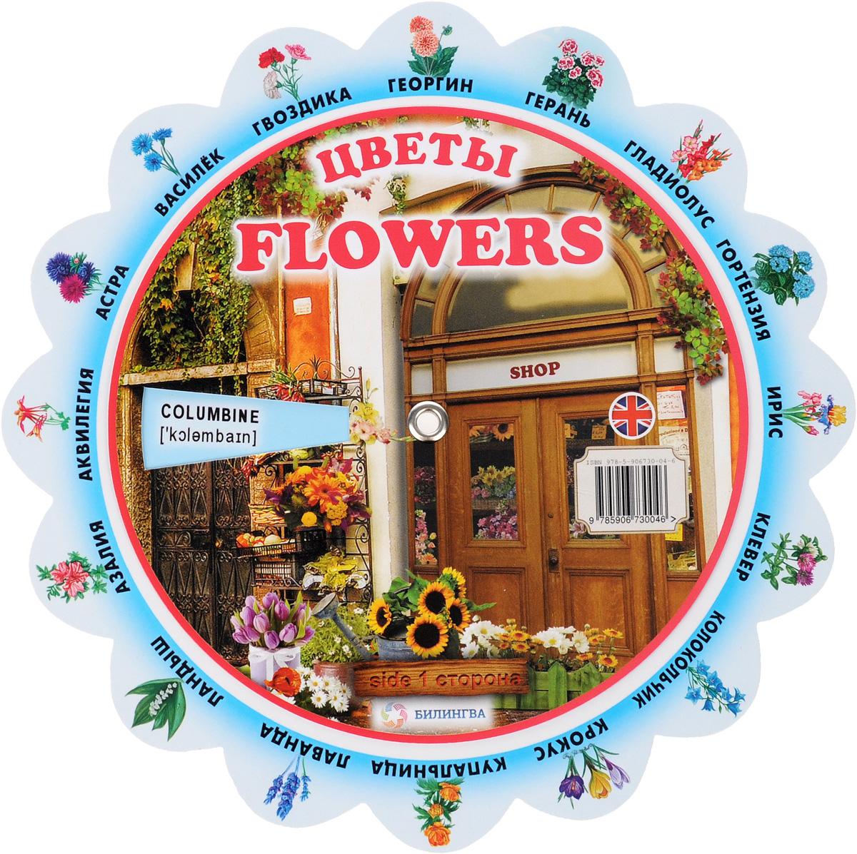 Flowers /Цветы. Иллюстрированный тематический словарь ( 978-5-906730-04-6 )