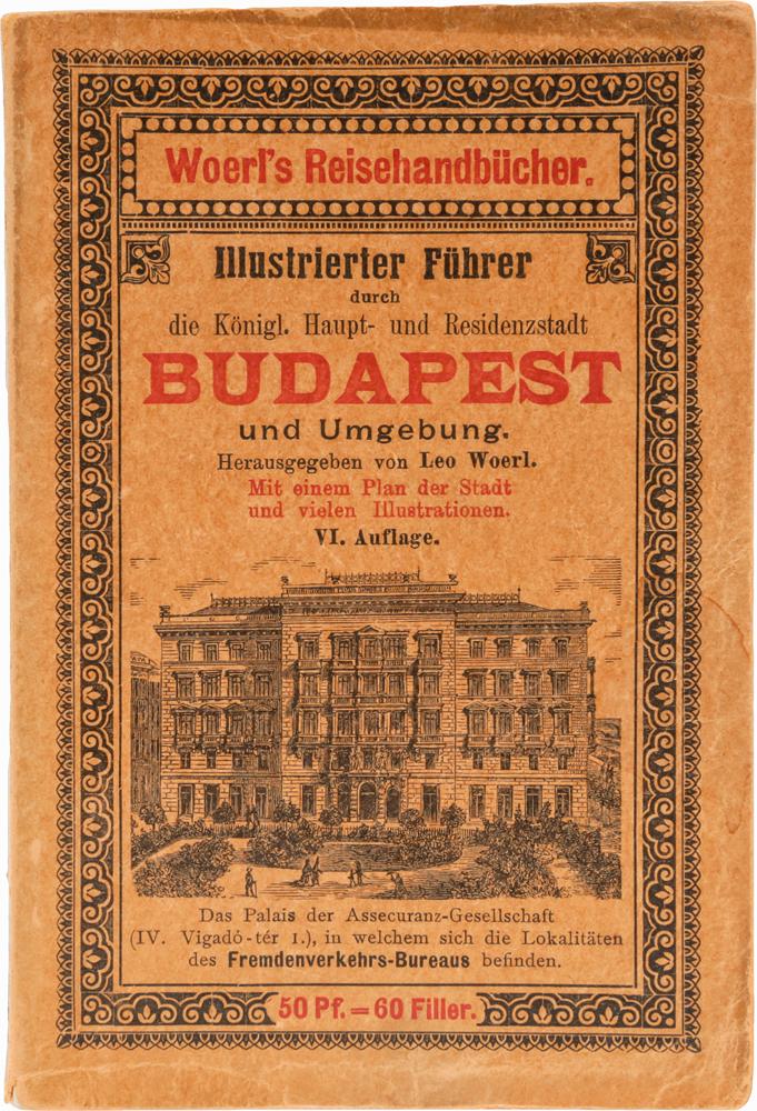 Illustrierter Fuehrer durch Budapest und Umgebung