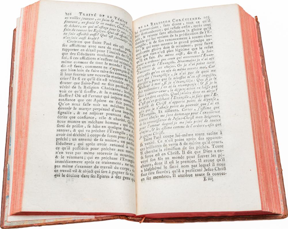 Traite de la Verite de la religion chretienne. Tomes 2, 3 (комплект из 2 книг)