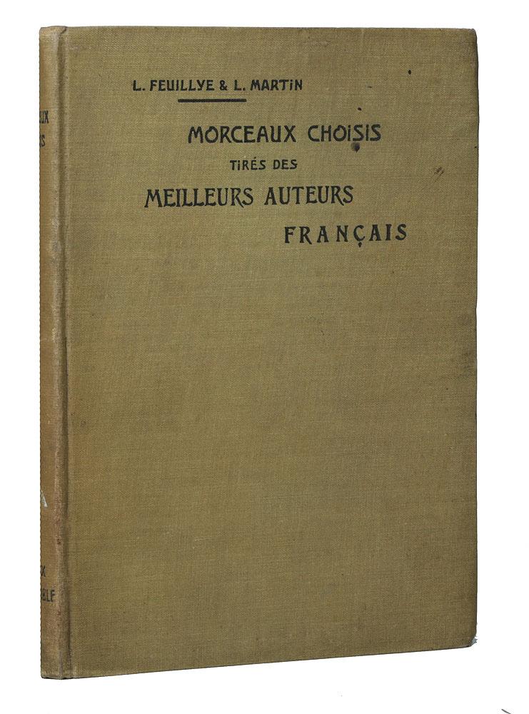 Morceaux choisis tires des Meilleurs auteurs francais