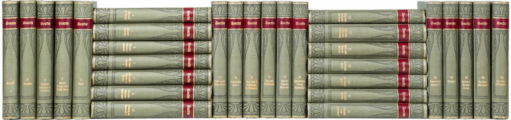 Собрание сочинений И. В. Гете в 30 томах (комплект из 30 книг)