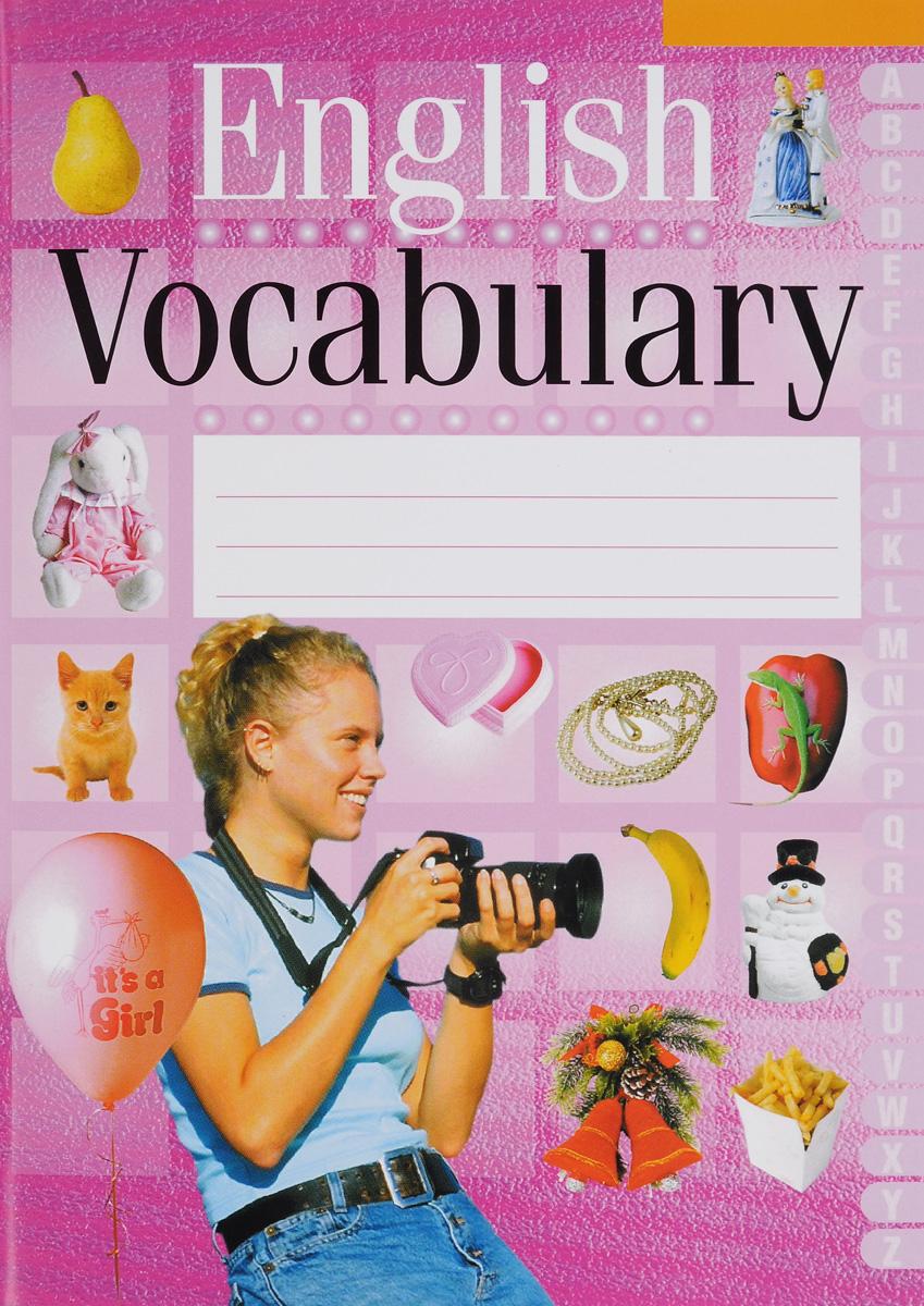 English Vocabulary12296407Издание представляет собой тетрадь для ведения словаря, необходимого учащимся 3-11 классов при изучении английского языка. Оно состоит из таблицы с колонками для записи слов на русском языке, их перевода и транскрипции. В пособии также приведены основные правила по грамматике английского языка, владение которыми поможет избежать наиболее часто допускаемых ошибок.