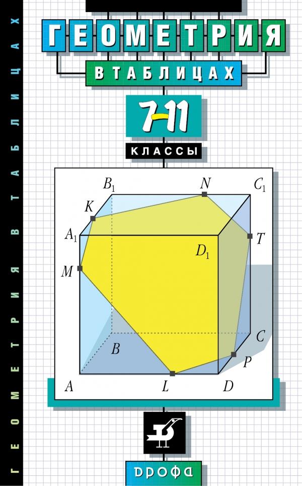 Геометрия в таблицах. 7-11 классы. Справочное пособие