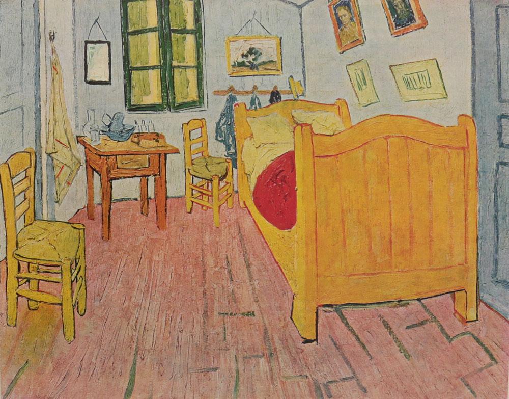 Van Gogh (1853 - 1890). Acht farbige gemaldewiedergaben