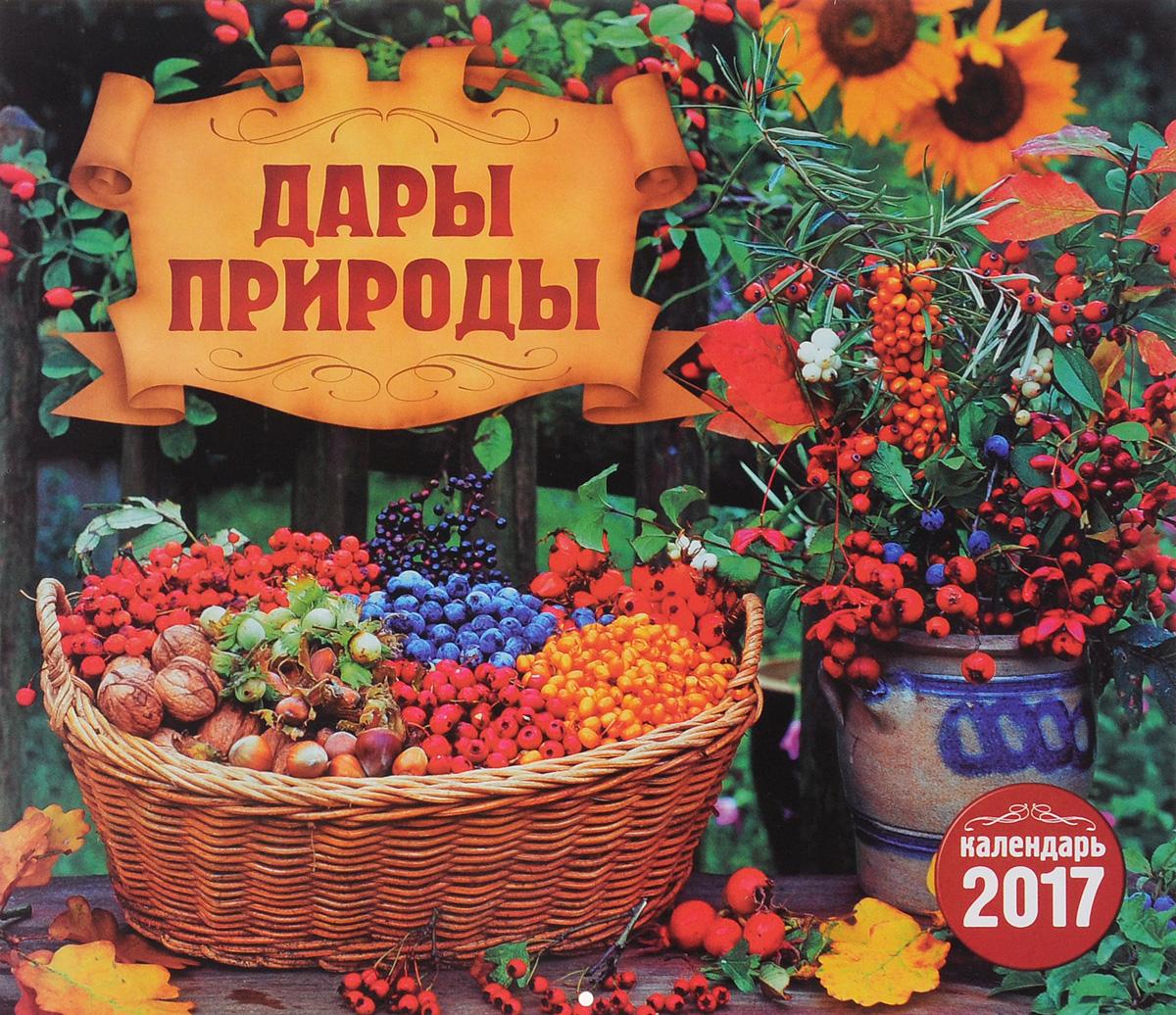 Перекидной календарь на 2017 год. Дары природы ( 4620011169488 )