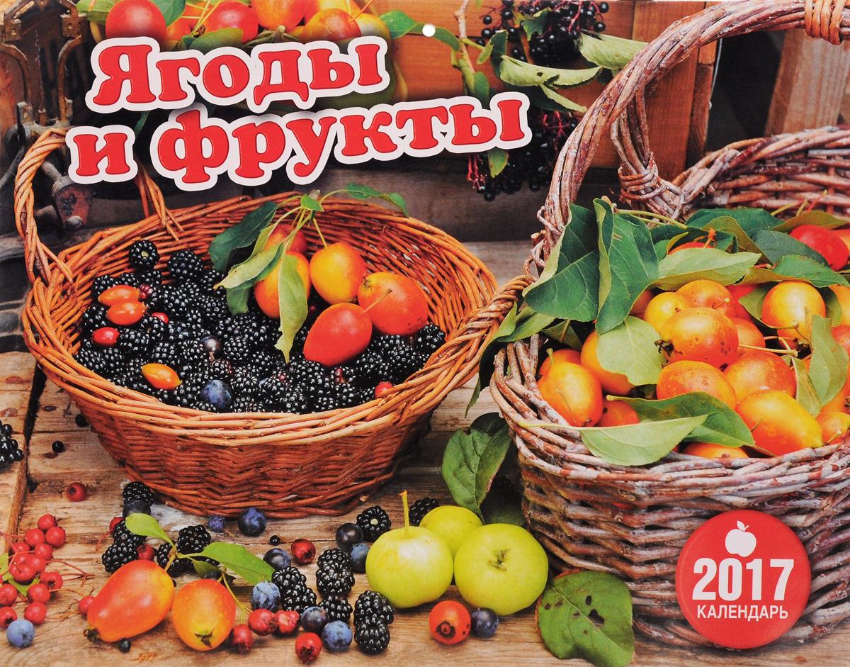 Перекидной календарь на 2017 год. Ягоды и фрукты ( 4620011169976 )