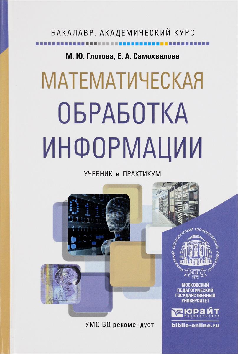Математическая обработка информации. Учебник и практикум