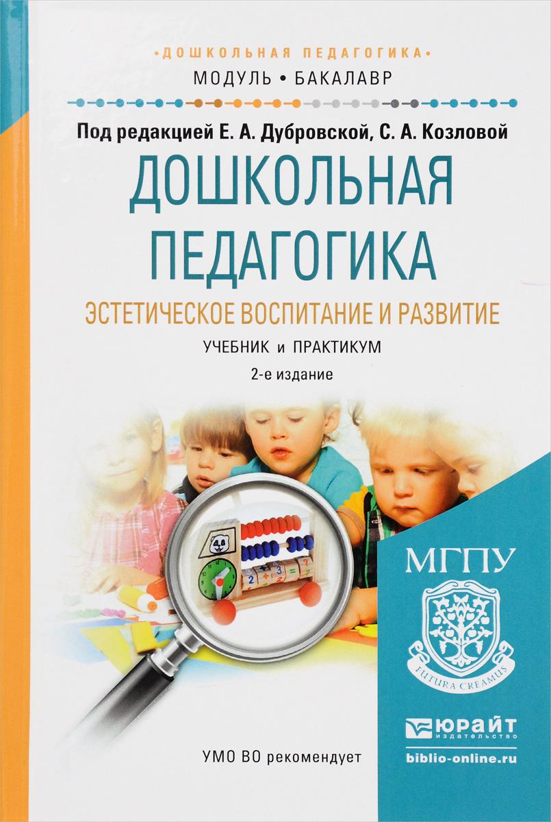Дошкольная педагогика. Эстетическое воспитание и развитие. Учебник и практикум