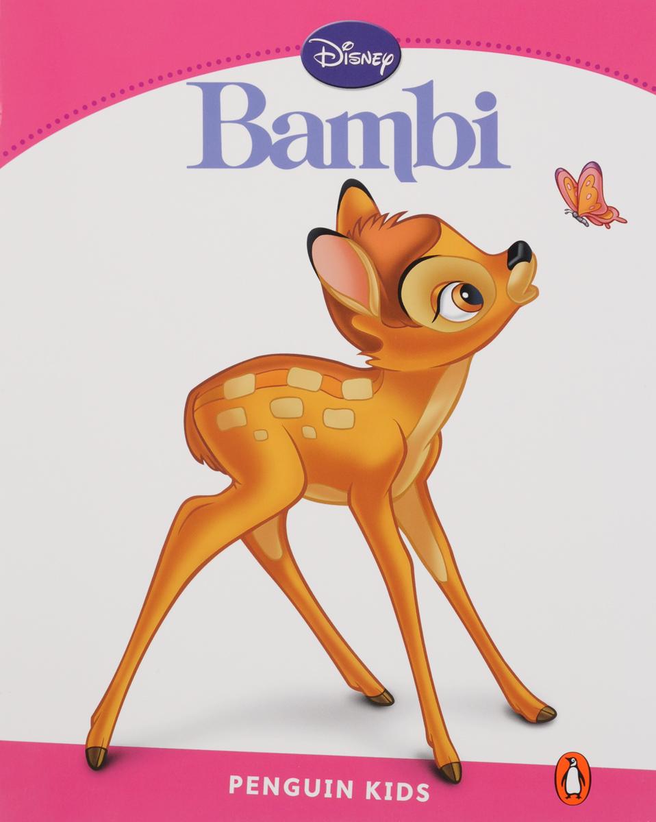 Bambi, адаптированная книга для чтения, Уровень 2 + код доступа к анимации Disney