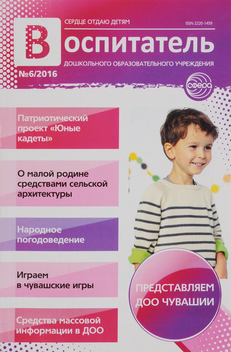 Воспитатель ДОУ, №6, 2016