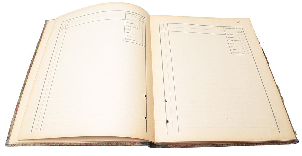 Вахтенный журнал для миноносцев и малых судов