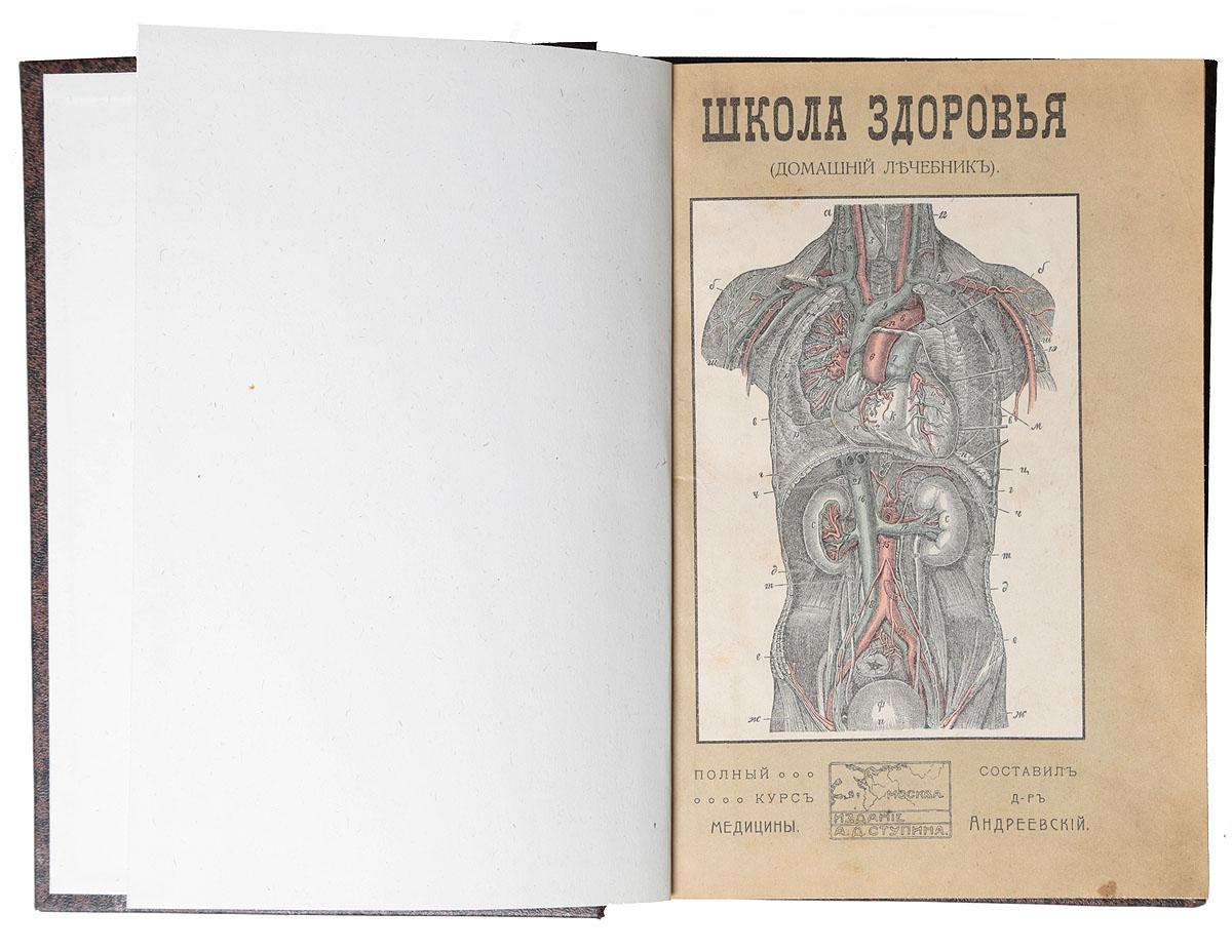Школа здоровья. Домашний лечебник. Практическое руководство к сохранению здоровья и продлению жизни (комплект из 2 книг)
