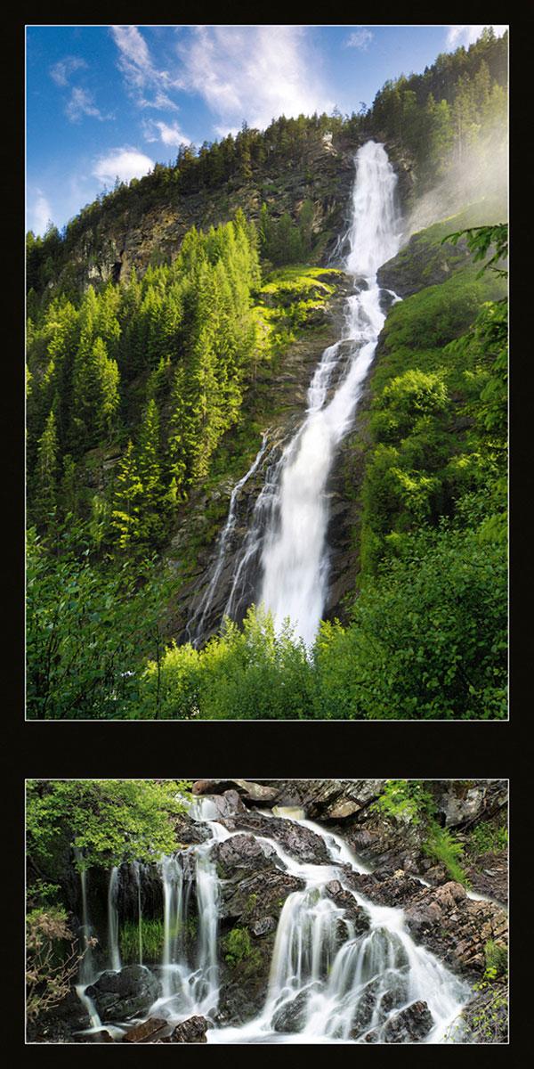 Календарь настенный на 2017 год (на спирали). All About Waterfalls (Всё о водопадах)