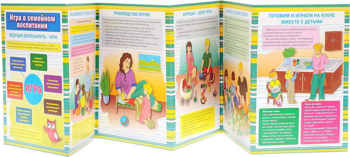 Игра в семейном воспитании. Ширмы с информацией для родителей и педагогов