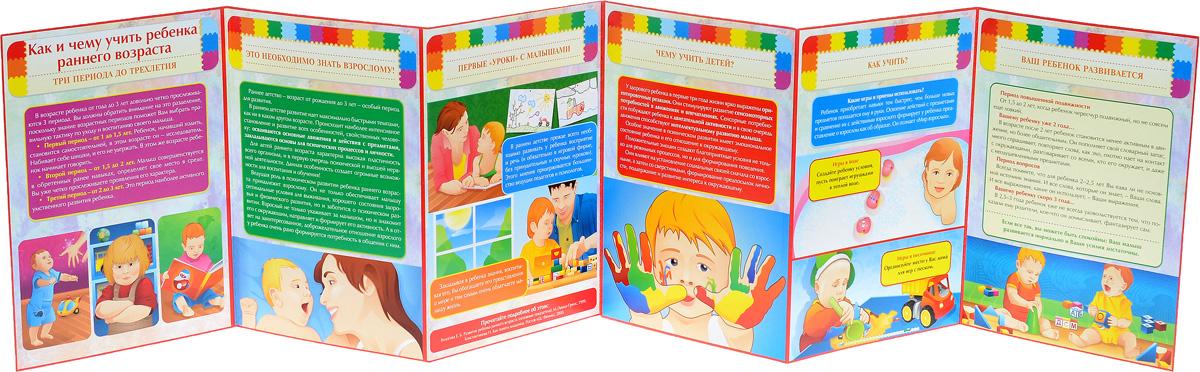 Как и чему учить ребенка раннего возраста. Ширмы с информацией для родителей и педагогов