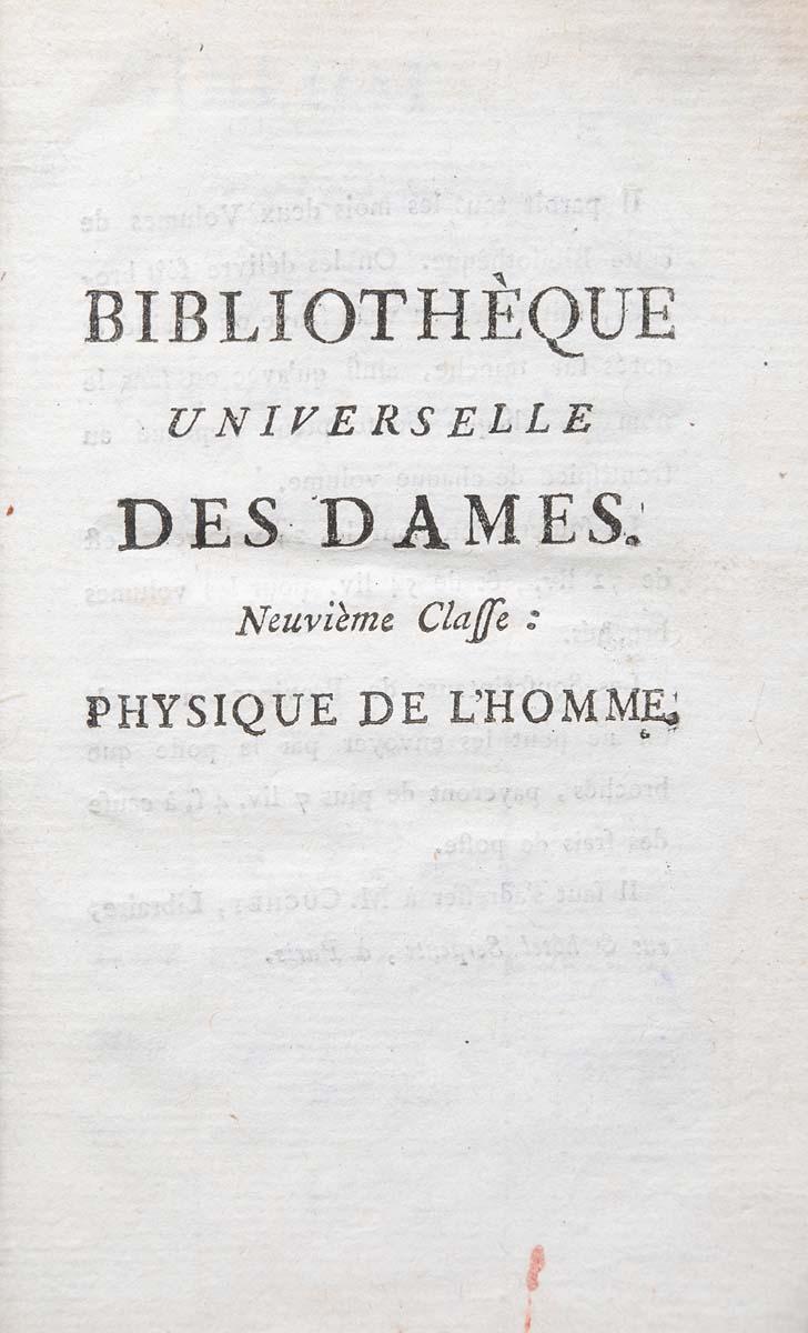 Bibliotheque Universelle Des Dames (комплект из 7 книг)