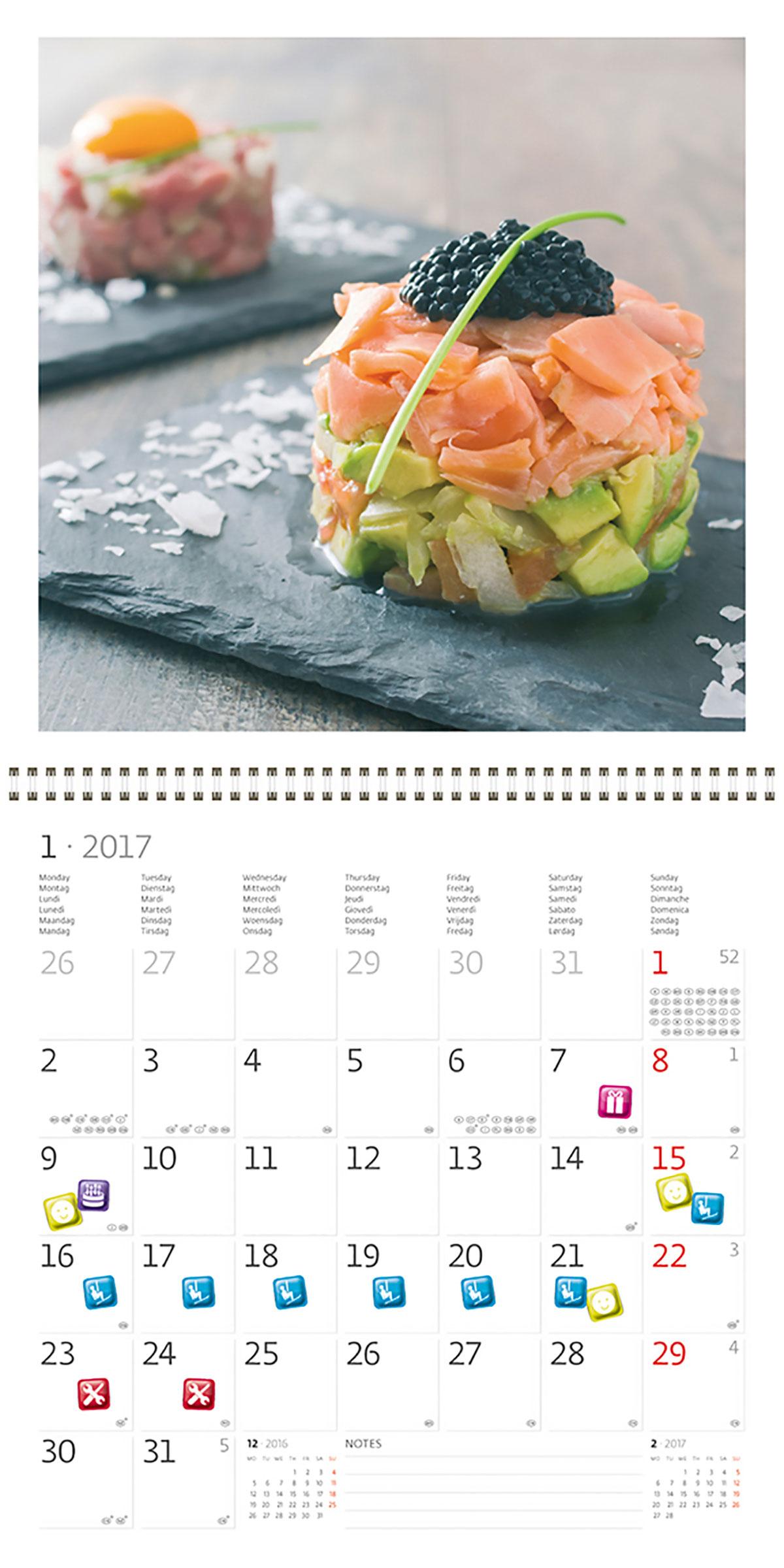 Календари на 2017 год с дляшопа