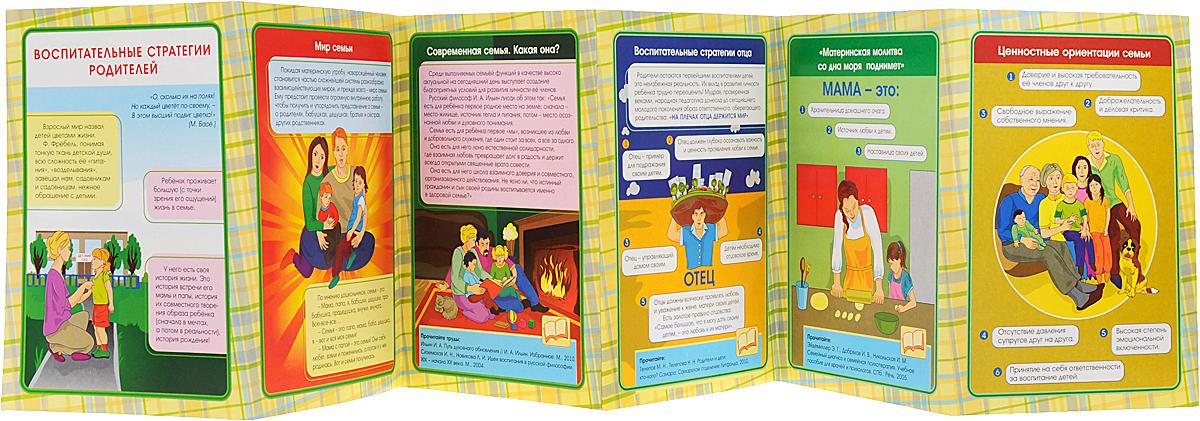 Воспитательные стратегии родителей. Ширмы с информацией для родителей и педагогов