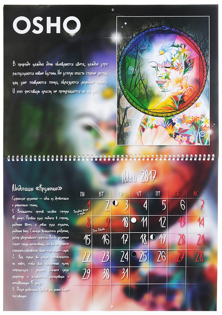 Календарь медитаций Ошо. Путь дзен. Ошо Дзен Таро (комплект из 2 книг + календарь + набор из 79 карт)