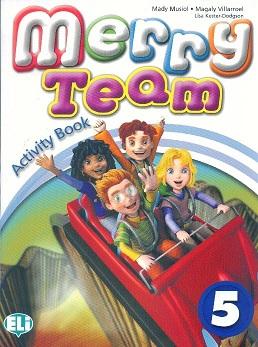 Merry Team 5: Activity Book (+ CD)