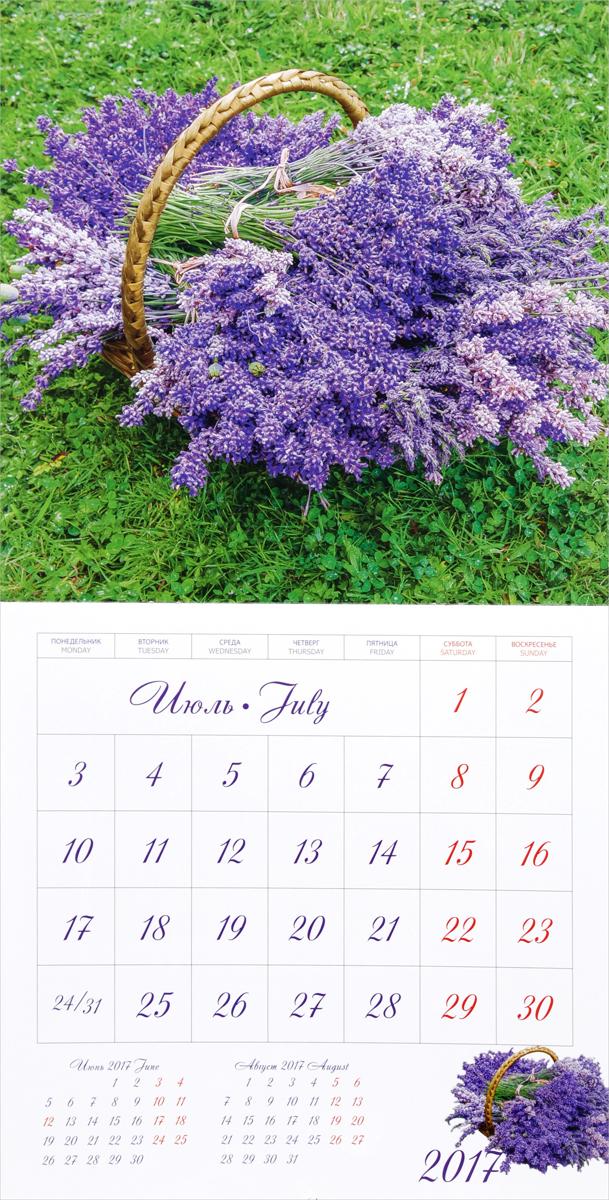 Календарь 2017 (на скрепке). Прованс / Provence