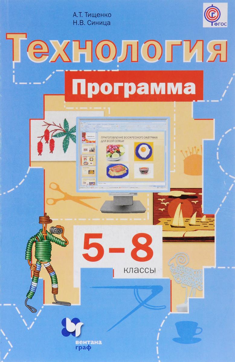 Технология. 5-8 классы. Программы (+ CD-ROM)