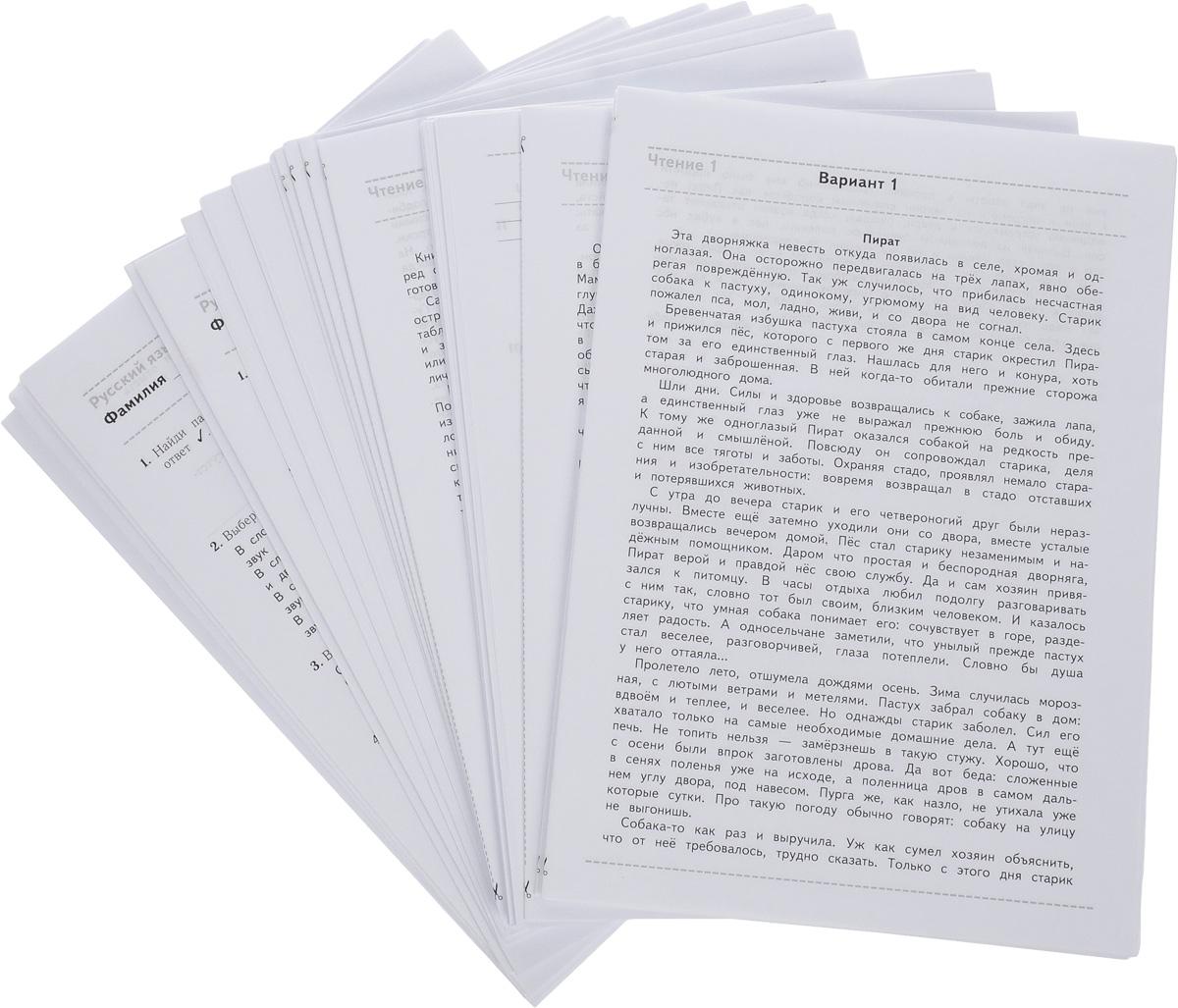 Русский язык. Математика. Чтение. 3 класс. Проверочные тестовые работы. Учебное пособие