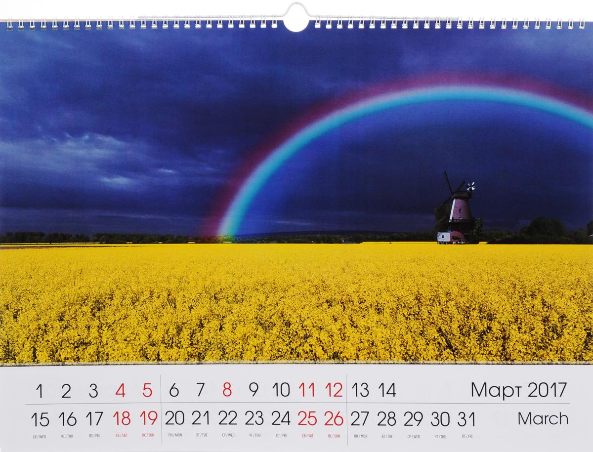 Календарь 2017 (на спирали). Краски природы / Colours of Nature