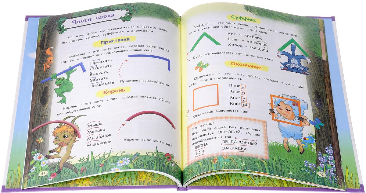 Подарок школьнику. Русский язык. Правила и словари (комплект из 3 книг)