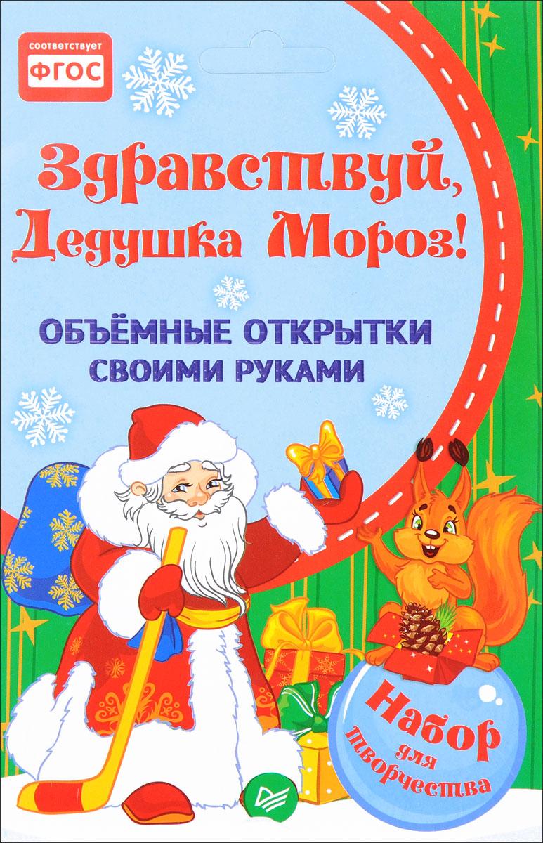 Здравствуй, Дедушка Мороз!Объемные открытки своими руками