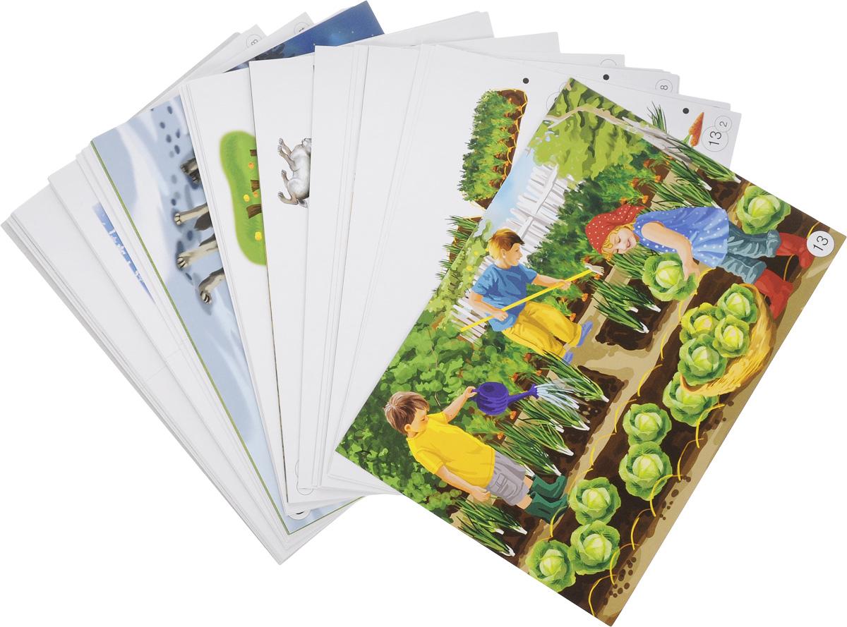 Развиваем связную речь у детей 6 лет с ОНР (комплект из 13 сюжетных картинок)