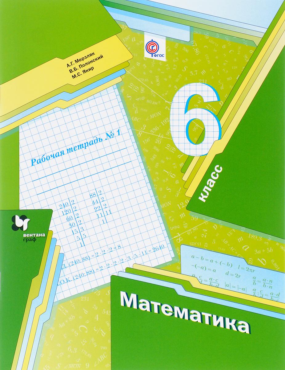 Математика. 6 класс. Рабочая тетрадь №1