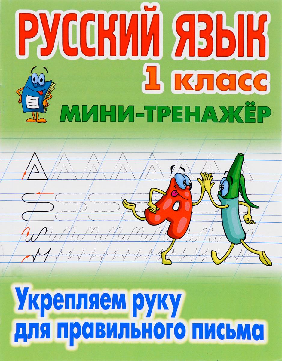 Русский язык. 1 класс. Укрепляем руку для правильного письма