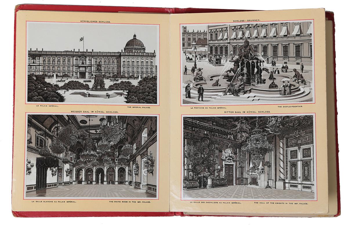 Berlin. Potsdam und Charlottenburg. Альбом видов